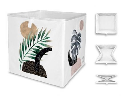 storage box glossy plant