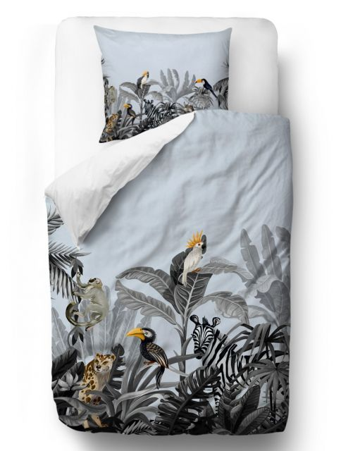 Povlečení exotic animals blanket: 200 x 200 cm  2x pillow: 60 x 50 cm