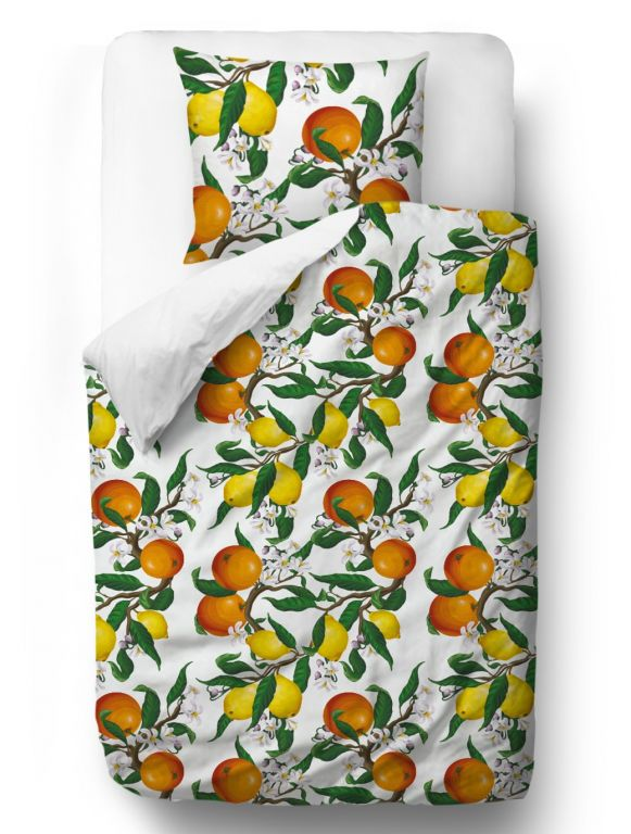 Povlečení lemon tree blanket: 135 x 200 cm  pillow: 80 x 80 cm