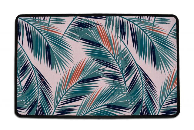 Rohožka tropical palm 75 x 45 cm