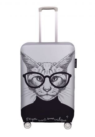 Obal na kufr critique cat 50 x 72 cm (up to 65 x 85 cm)