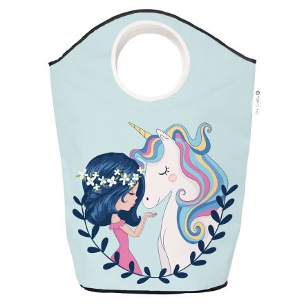 storage bag girl and unicorn