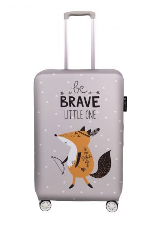 luggage cover be brave