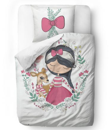bedding set little deer friend