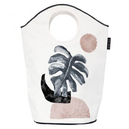 storage bag glossy monstera