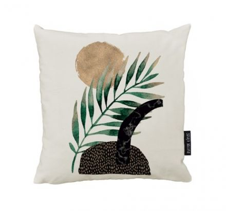 cushion canvas glossy plant